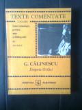 G. Calinescu - Enigma Otiliei (Editura Albatros, 1983; colectia Lyceum)