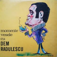 MOMENTE VESELE CU DEM RADULESCU (DISC VINIL) - Muzica soundtrack