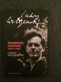 Ludwig Wittgenstein - Insemnari Postume 1914-1951-17