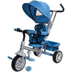 Tricicleta Confort Plus Albastru - Tricicleta copii