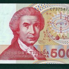 Croatia 50000 1993 - bancnota europa