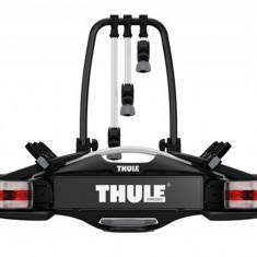 Suport biciclete Thule VeloCompact 927 cu prindere pe carligul de remorcare - pentru 3 biciclete Grand Luggage - Bare Auto longitudinale
