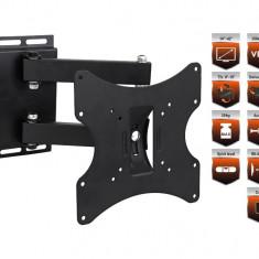 Suport Reglabil Universal pentru Televizor TV sau Monitor cu Diagonala intre 14-42 inch, Capacitate 35kg - Suport TV