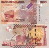 Uganda 1 000 Shilings 2017 UNC