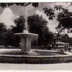 BUCURESTI B-DUL REPUBLICII FANTANA ARTEZIANA RPR ST.GARA DE NORD SPECIAL - Carte Postala Muntenia dupa 1918, Circulata, Fotografie