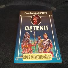 PETRU DEMETRU POPESCU - OSTENII - Istorie