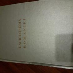 Enciclopedia Romaniei 1934 - vol.IV