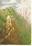 (A) carte postala(ilustrata)-ARGES-Cetatea Poienari, Necirculata, Printata