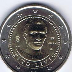 ITALIA moneda 2 euro comemorativa 2017 - T.Livius, UNC