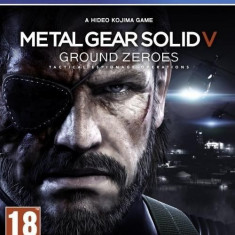 Metal Gear Solid V - Ground Zeroes - PS4 [Second hand] fm - Jocuri PS4, Actiune, 18+, Single player