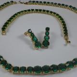 Set bijuterii Luxury Glamour Emerald Cod produs: S107