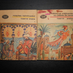 BASME ARABE  2 volume, contin numeroase basme