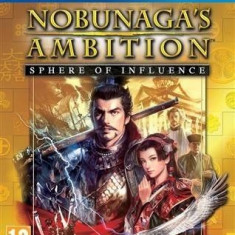 Nobunaga's Ambition - Sphere of influence - PS4 [Second hand] - Jocuri PS4, Strategie, 12+, Single player