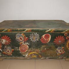 LADA DE ZESTRE PICTATA, VECHE, Accesorii mobilier, 1800 - 1899