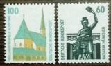 GERMANIA 1991 - UZUALE, timbre nestampilate CD68, Nestampilat