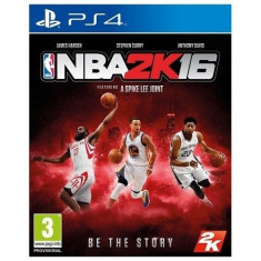 NBA 2K16 - PS4 [Second hand] - Jocuri PS4, Sporturi, 18+, Multiplayer