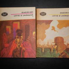 DOSTOIEVSKI - CRIMA SI PEDEAPSA 2 volume - Roman