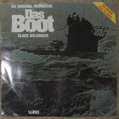 Vinyl/vinil Das-Boot-soundtrack by Klaus-Doldinger, Germany 1985, VG+ - Muzica soundtrack
