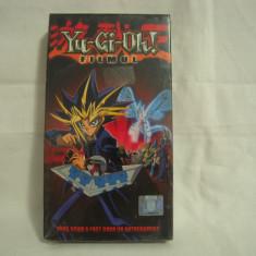 Vand caseta video Yu-Gi-Oh!-Filmul, originala, VHS, sigilata - Film animatie, Romana