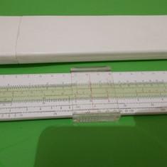 RIGLA de calcul  LOGAREX  27606 , lungime 330 mm