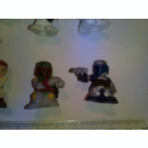 bnk jc Star Wars Fighter Pods - lot 10 figurine diferite