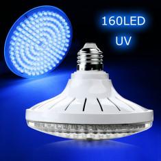 Bec cu 160 leduri uv gel uv si led blacklight - Lampa uv unghii