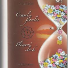 Romania,mapa ,Ceasul florilor II,nr lista 1983a.