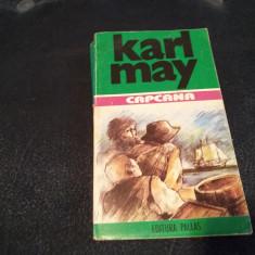 KARL MAY - CAPCANA - Carte de aventura