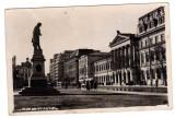 BUCURESTI UNIVERSITATEA STATUIE STAMPILA CENZURAT BUCURESTI 335 B.1, Circulata, Fotografie