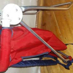 Port bebe Chicco cu cadru de aluminiu - Marsupiu bebelusi Chicco, Rosu