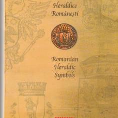 Romania,mapa ,INsemne heraldice,nr lista 1818.