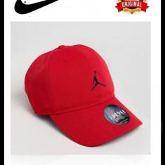 Sapca Nike Jordan Jumpman Floppy Rosie - Originala - Reglabila - 100% Poliester - Sapca Barbati Nike, Marime: Marime universala, Culoare: Rosu