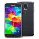 Samsung Galaxy S5 G900F - Telefon mobil Samsung Galaxy S5, Negru, 16GB, Orange, Single SIM