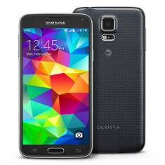 Samsung Galaxy S5 G900F - Telefon mobil Samsung Galaxy S5, Negru, 16GB, Orange, Single SIM