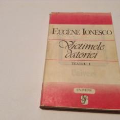 Victimele Datoriei Teatru Vol.1 - Eugene Ionesco, RF4/4 - Carte Teatru