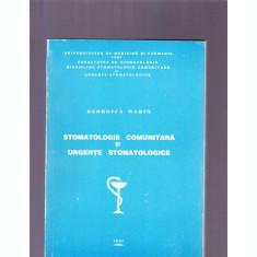 STOMATOLOGIE COMUNITARA SI URGENTE STOMATOLOGICE