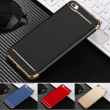 Bumper / Husa 3 in 1 Luxury pentru Huawei P8 lite / P9 lite mini 5'' / P Smart, Alt model telefon Huawei, Negru, Plastic