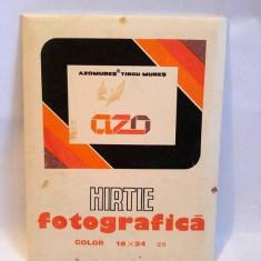 Hartie fotografica Azomures, Tg Mures, din 1992, vintage, colectie