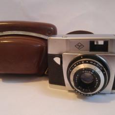 Aparat foto vintage Agfa Silette Rapid I, cu toc de piele - Aparate Foto cu Film