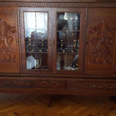 Set mobila veche sufragerie - peste 30 ani, stare foarte buna! - Set mobila living