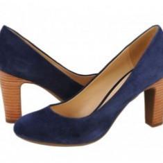 Pantofi Geox New Mariec bleumarin - Pantof dama Geox, Marime: 35.5, Cu toc