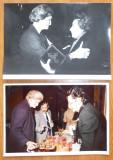 Mia Groza si Ambasadorul Cubei la ONU , Rodney Lopez , 2 foto si carte de vizita