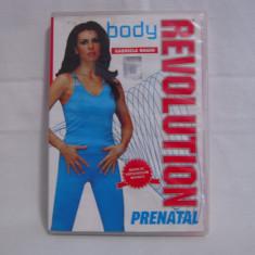 Vand dvd Body Revolution-Prenatal-Gabriela Naghi, original, cu holograma - Program Exercitii fizice, Romana