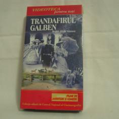 Vand caseta video Trandafirul Galben, sigilată, originală, cu hologramă - Film actiune, Romana