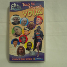 Vand caseta video Grupul Voua-Țara lu' Papură Vodă, originală, cu holograma - Teatru, Romana
