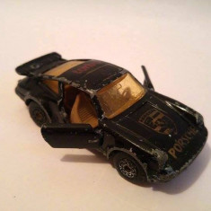 Macheta Masinuta Hot Wheels metal Matchbox Superfast Porche Turbo No 3, Macau 1978