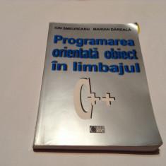 PROGRAMAREA ORIENTATA OBIECT IN LIMBAJUL C++, ION SMEUREANU, RF1/4 - Carte software