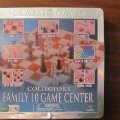 PVM - 10 jocuri intr-o singura cutie: sah, table, cribbage, checkers, mancala sa