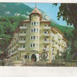 Bnk cp Baile Herculane - Hotel Cerna - necirculata - marca fixa - Carte Postala Banat dupa 1918, Printata