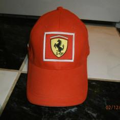 Sapca originala Puma Ferrari noua fara eticheta din Italy - Sapca Barbati Puma, Marime: Marime universala, Culoare: Rosu